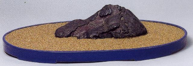 加茂川紅流し石 27×14.5×8