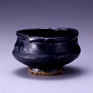 黒高麗茶碗 銘「薬王菩薩」73.5man