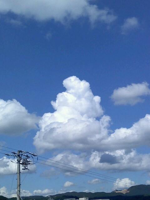 ソフトクリーム雲