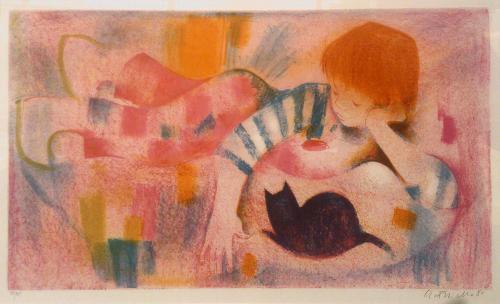 フックス少年と猫
