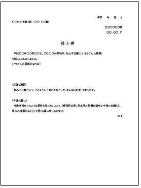 年賀状 word 年賀状 テンプレート : 始末書テンプレート - エクセル ...