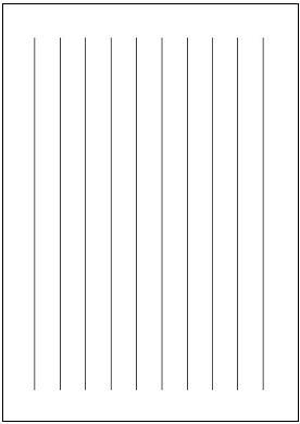 便箋(B5縦書き・実線 ... : 便箋 テンプレート : すべての講義