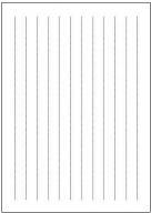 便箋(A4縦書き点線)テンプレート・フォーマット・雛形