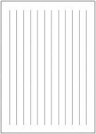 便箋(A4縦書き実線)テンプレート・フォーマット・雛形