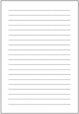 便箋(A4横書き・点線 ... : a4 便箋 テンプレート : すべての講義