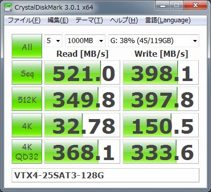 【CDM3.0】VTX4-25SAT3-128G