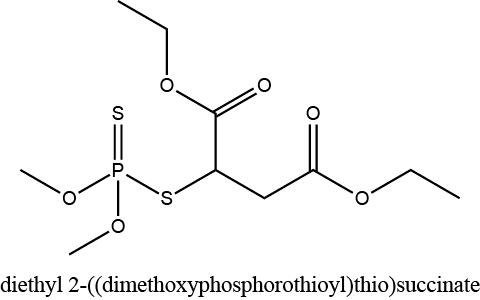 diethyl 2-((dimethoxyphosphorothioyl)thio)succinate