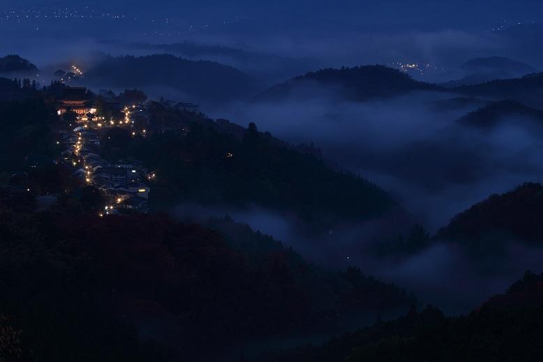 吉野山、1