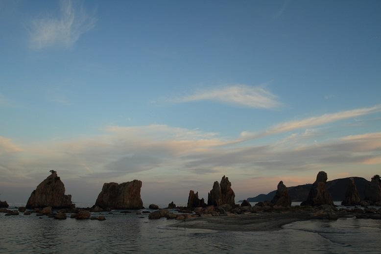 橋杭岩、1