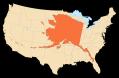 アラスカ大きさ