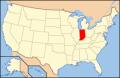 インディアナ州場所