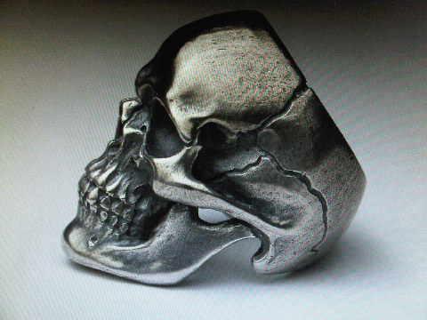 FXL Skull ring