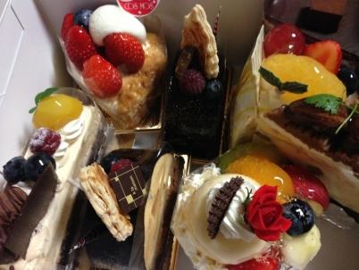 25才誕生日ケーキ