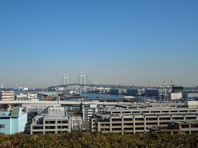 港の見える丘公園 ベイブリッジ