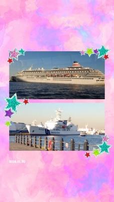 飛鳥Ⅱ&海軍船