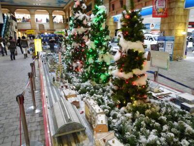 トレッサ横浜クリスマスNゲージディスプレイ-01