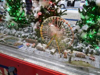 トレッサ横浜クリスマスNゲージディスプレイ-02