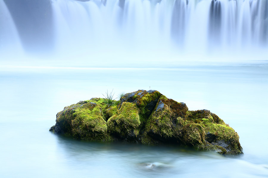 У водопада Гудафосс в Исландии