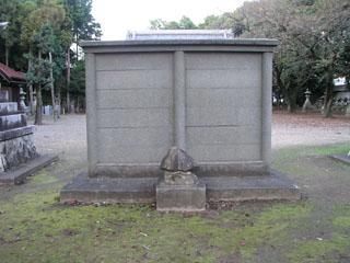 犬山市五郎丸神明社の蕃塀