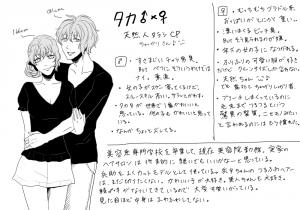 忍たま 本人♂×♀妄想-タカ
