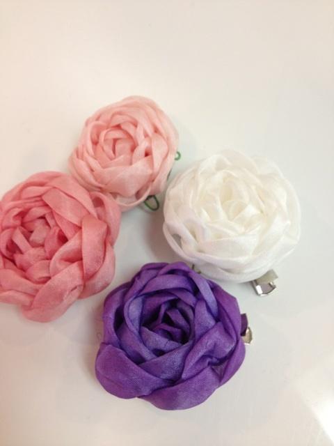 すべての折り紙 薔薇 作り方 折り紙 : 花びらのつまみ細工 通信講座 ...