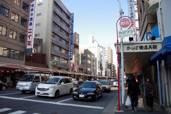 20140118かっぱ橋道具街1