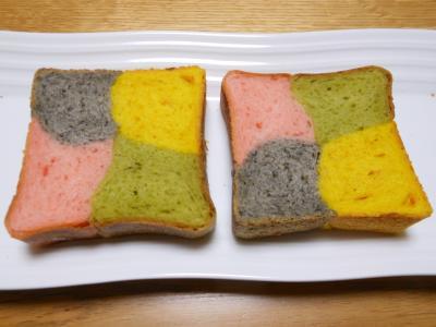 2013 01 22 四色パン