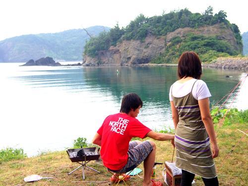 島camp1  011