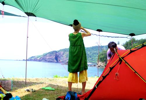 島camp1  009