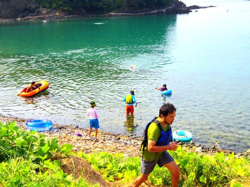 島camp1  026