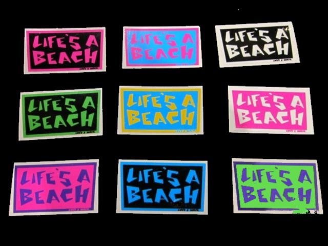 lifes a beach color 640x480