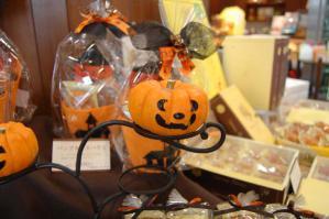 店内かぼちゃ