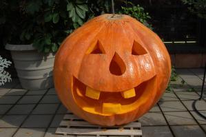 ジャックオランタン完成_2012.10.27