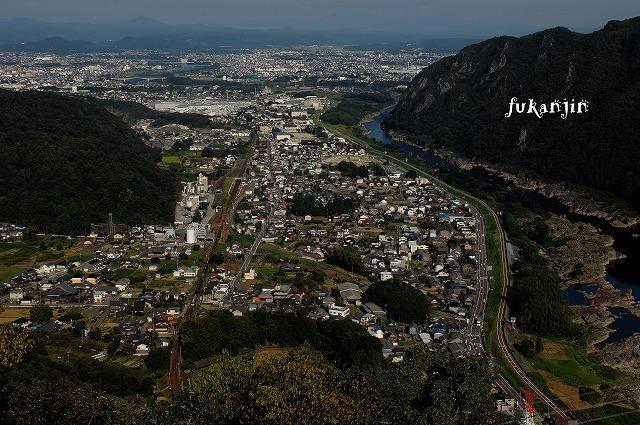 高山本線坂祝町猿啄城跡俯瞰 (3)のコピー