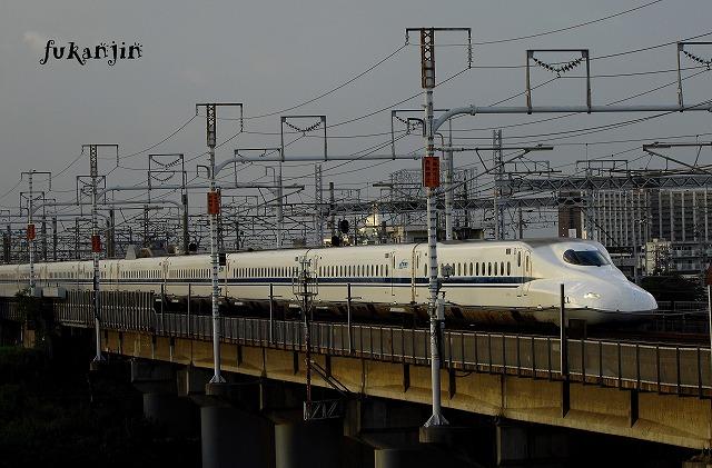 東海道本線新幹線庄内川橋梁 (4)