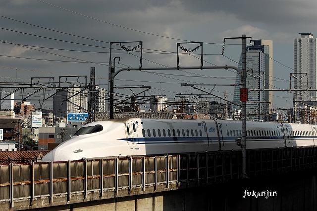 東海道本線新幹線庄内川橋梁 (2)