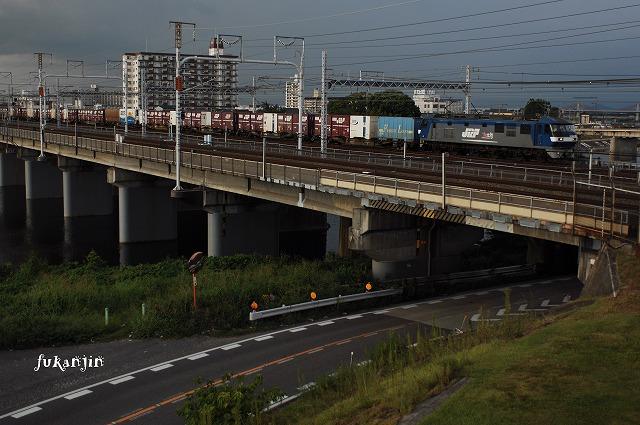 東海道本線新幹線庄内川橋梁 (8)