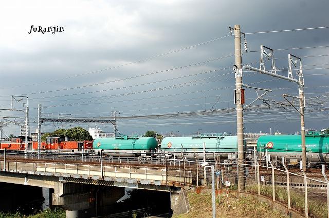 東海道本線新幹線庄内川橋梁 (6)