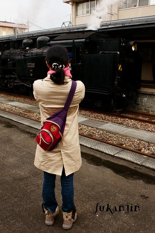 飯山線SL信濃川ロマン号試運転  (2)