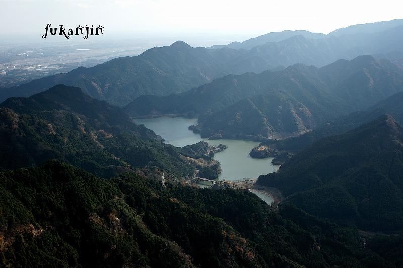 錫杖ヶ岳からの俯瞰20121208 (6)