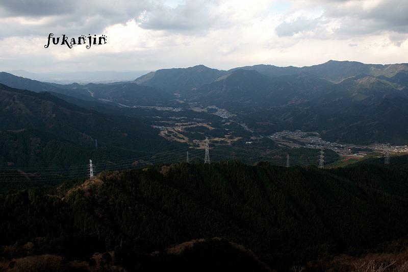 錫杖ヶ岳からの俯瞰20121208 (5)