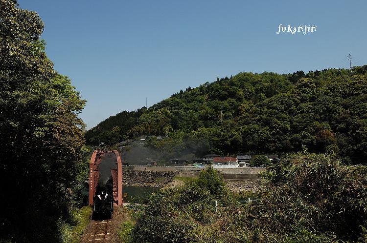肥薩線鎌瀬~瀬戸石第一橋梁20130427 6