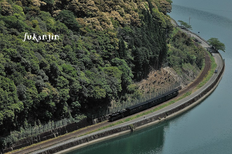 肥薩線海路駅俯瞰 1