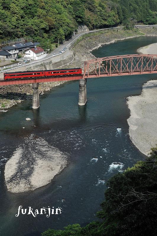 球磨川第一橋梁 1