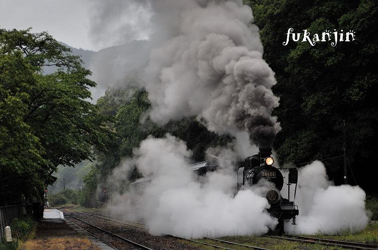 白石駅発車 (2)