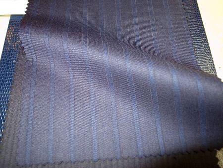SCABAL(スキャバル)のJEWEL(ジュエル)のスーツ生地・紺