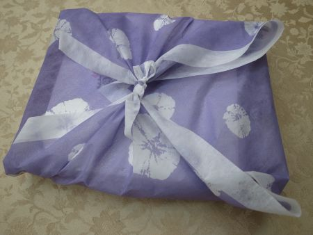 菊園の菊焼残月のお包み