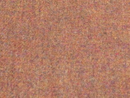 葛利毛織の赤のツイード