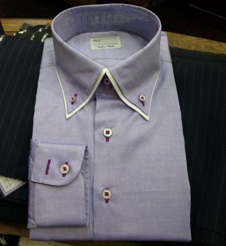 ピンオックスのオーダーシャツ
