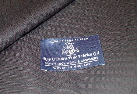 Rayoharaのスーツ生地秋冬物Super150